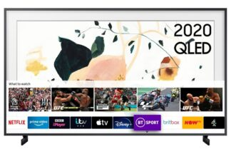 Samsung QE55LS03TAUXXU The Frame QE55LS03TAUXXU 55` 4K QLED Smart TV - B Energy Rated