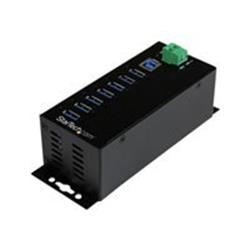 StarTech.com 7-Pt Industrial USB 3.0 Hub w/ Ext. Power Supply