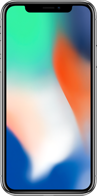 Apple iPhone X 64GB Silver Refurbished (Grade A) at £44.99 on Red with Entertainment (24 Month contract) with Unlimited mins & texts; 6GB of 5G data. £37 a month.