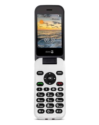 Doro 6620 Black SIM Free Mobile Phone