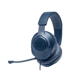 JBL Quantum 100 Gaming-Wired Over-Ear Headset - Blue