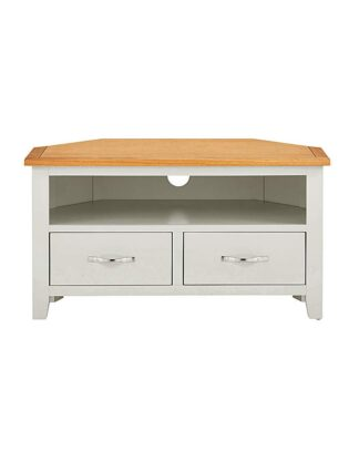 Norfolk Two Tone Corner TV Unit