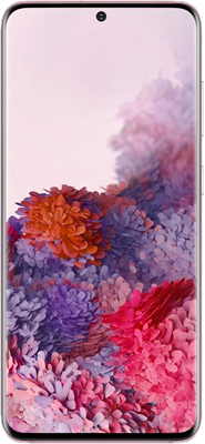 Samsung Galaxy S20 4G 128GB Pink at £34.99 on Red with Entertainment (24 Month contract) with Unlimited mins & texts; 6GB of 5G data. £49 a month.