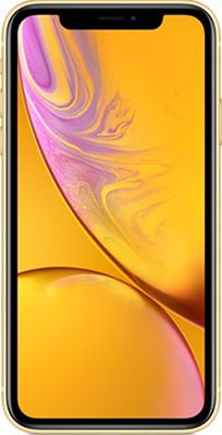 Apple iPhone XR 128GB Yellow at £14.99 on Red with Entertainment (24 Month contract) with Unlimited mins & texts; 48GB of 5G data. £55 a month.