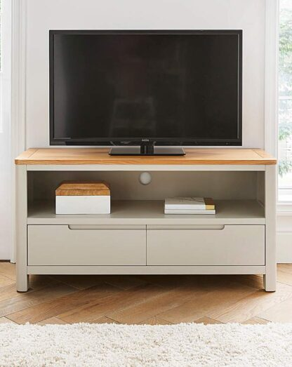 Logan Two-Tone TV Unit