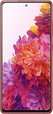 Samsung Galaxy S20 FE 4G 128GB Red at £24.99 on Unlimited with Entertainment (24 Month contract) with Unlimited mins & texts; Unlimited 5G data. £53 a month.