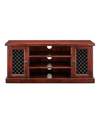 Jaipur Acacia Wood Wide TV Cabinet