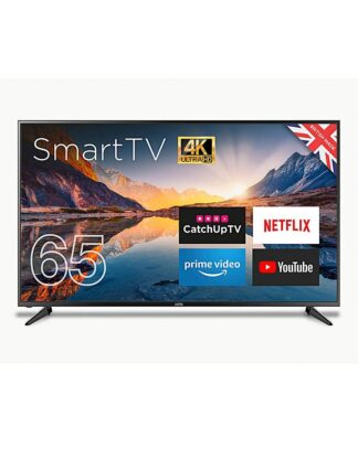 """Cello 65 Smart 4K LED TV with Freeview"""""""