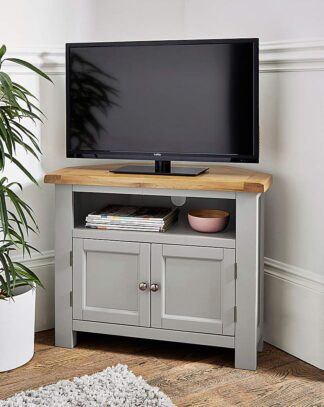 Faversham Assembled Corner TV Unit
