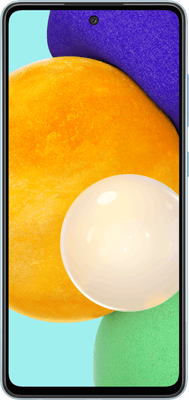 Samsung Galaxy A52 5G (128GB Blue) at £4.99 on Advanced Unlimited Data (24 Month contract) with Unlimited mins & texts; Unlimited 5G data. £33 a month.